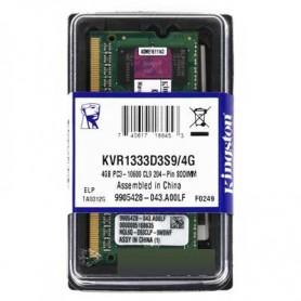 4GB MEMORIA SODIMM DDR-3 1333MHZ PC3-10600 KINGSTON