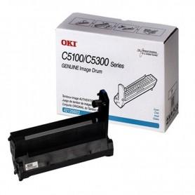 TONER OKI PARA IMPRESORA C5100/C5200/C5300/C5400 CYAN