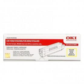 TONER OKI PARA IMPRESORA C5100/C5200/C5300/C5400 AMARILLO