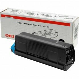 TONER OKI PARA IMPRESORA C5100/C5200/C5300/C5400 NEGRO