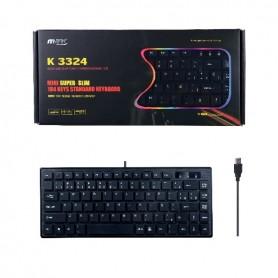 MINITECLADO MTK K3324 SLEEVE USB NEGRO