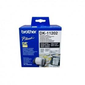 ETIQUETAS DE ENVIO BROTHER DK-11202 62MM X 100MM 300UDS