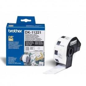 ETIQUETAS CUADRADAS BROTHER DK-11221 23MM X 23MM 1000UDS