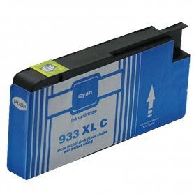 CARTUCHO TINTA COMPATIBLE CON HP 933XL (CN054AE) CYAN (14ML)