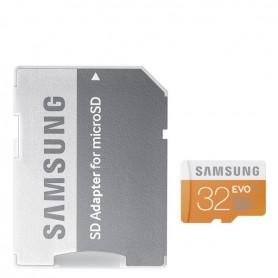 MICROSD 32GB UHS-I SAMSUNG CLASE 10 + ADAPTADOR + LPI*
