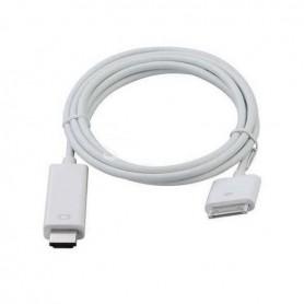 ADAPTADOR OEM IPAD/IPHONE A HDMI (IPAD / IPAD2 / IPHONE 4 / IPOD TOUCH)