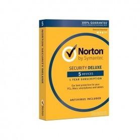 ANTIVIRUS NORTON SECURITY DELUXE 3.0 HASTA 5PCS