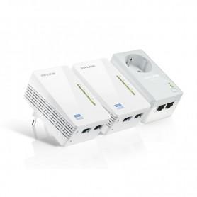 TP-LINK PLC WIFI TL-WPA4226KIT POWERLINE ETHERNET 300 MBPS AV500 ADAPTER WIFI KIT PACK 2 UDS.