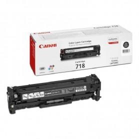 TONER CANON 718 NEGRO PARA I-SENSYS LBP7200C / LBP7660C / MF8330C / MF8540C