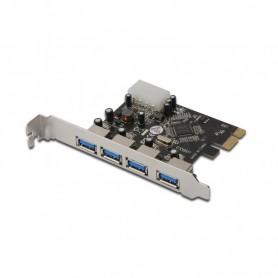 TARJETA CONTROLADORA DIGITUS PCI-E 4 PTOS USB 3.0