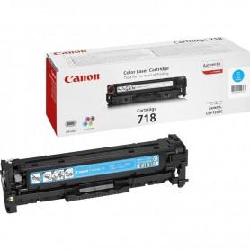 TONER CANON 718 CYAN PARA I-SENSYS LBP7200C / LBP7660C / MF8330C / MF8540C