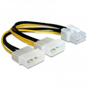 CABLEXPERT CABLE ALIMENTACION 2 MOLEX A PCI EXPRESS 8 PINES CC-PSU-81 15 CM
