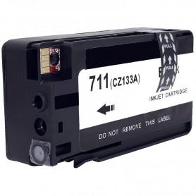 CARTUCHO TINTA PIGMENTADA COMPATIBLE HP 711 (CZ133A) NEGRO (73 ML)