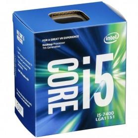 PROCESADOR INTEL I5 7400 3.0GHZ 6MB S-1151 BOX KABYLAKE