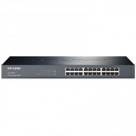 TP-LINK SWITCH 24 PUERTOS TL-SG1024 10/100/1000 MBPS RACK