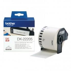 ETIQUETA CONTINUA BROTHER DK-22205 62MM X 30.48M