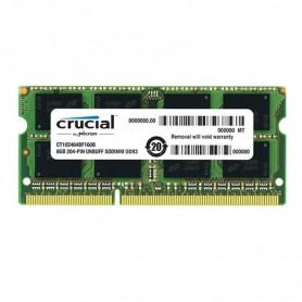 8GB MEMORIA SODIMM DDR3L 1600MHZ PC3-12800 CRUCIAL