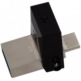 PENDRIVE 64GB KINGSTON DATATRAVELER MICRODUO USB 3.0 + LPI*