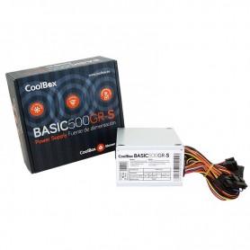 COOLBOX FUENTE ALIMENTACION BASIC500GR-S 500W SFX