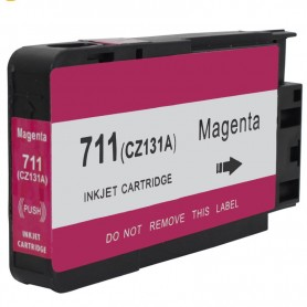 CARTUCHO TINTA COMPATIBLE HP 711 (CZ131A) MAGENTA (26 ML)