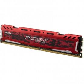 16GB MEMORIA CRUCIAL DDR-4 2400MHZ BALLISTIX SPORT RED BLS8G4D240FSE