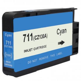 CARTUCHO TINTA COMPATIBLE HP 711 (CZ130A) CYAN (26 ML)