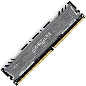 16GB MEMORIA CRUCIAL DDR-4 2400MHZ BALLISTIX SPORT GREY BLS8G4D240FSB
