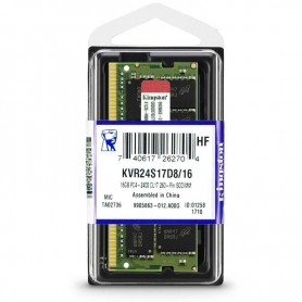 16GB MEMORIA SODIMM DDR-4 2400 KVR24S17D8/16 KINGSTON
