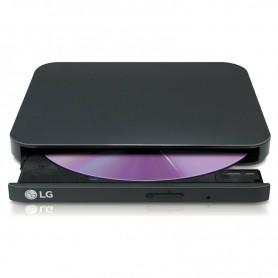 REGRABADORA DVD±RW LG GP90EB70 EXTERNA SLIM NEGRA + LPI*