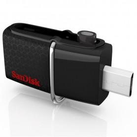 PENDRIVE 32GB SANDISK ULTRA DUAL USB 3.0 MICRO USB + LPI*