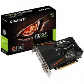 TARJETA GRAFICA GIGABYTE GEFORCE GTX 1050 TI 4GB DDR5 DVI-D+HDMI+DISPLAYPORT
