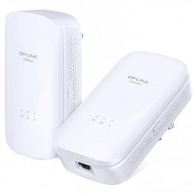 TP-LINK PLC WIFI TL-PA8010 KIT POWERLINE ETHERNET 1200 MBPS AV1200 ADAPTER STARTER KIT PACK 2 UDS